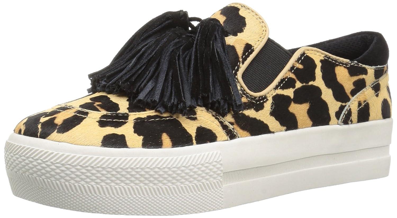 The Fix Women's Jasper Slip-on Tassel Fringe Fashion Sneaker B06XH875WY 10 B(M) US Leopard