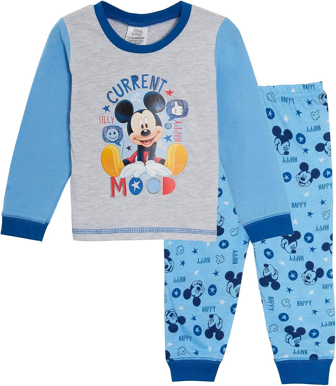Baby Boys Pyjamas Disney Mickey Mouse Full Of Smile Nightwear Pyjama 6 to 24 M