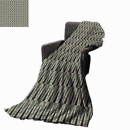 Amazon.com: Luckyee Geometric Digital Printing Blanket ...