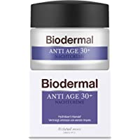 Biodermal Anti Age 30+ - Nachtcrème tegen huidveroudering - Deze nachtcreme helpt de vorming van eerste rimpels te…