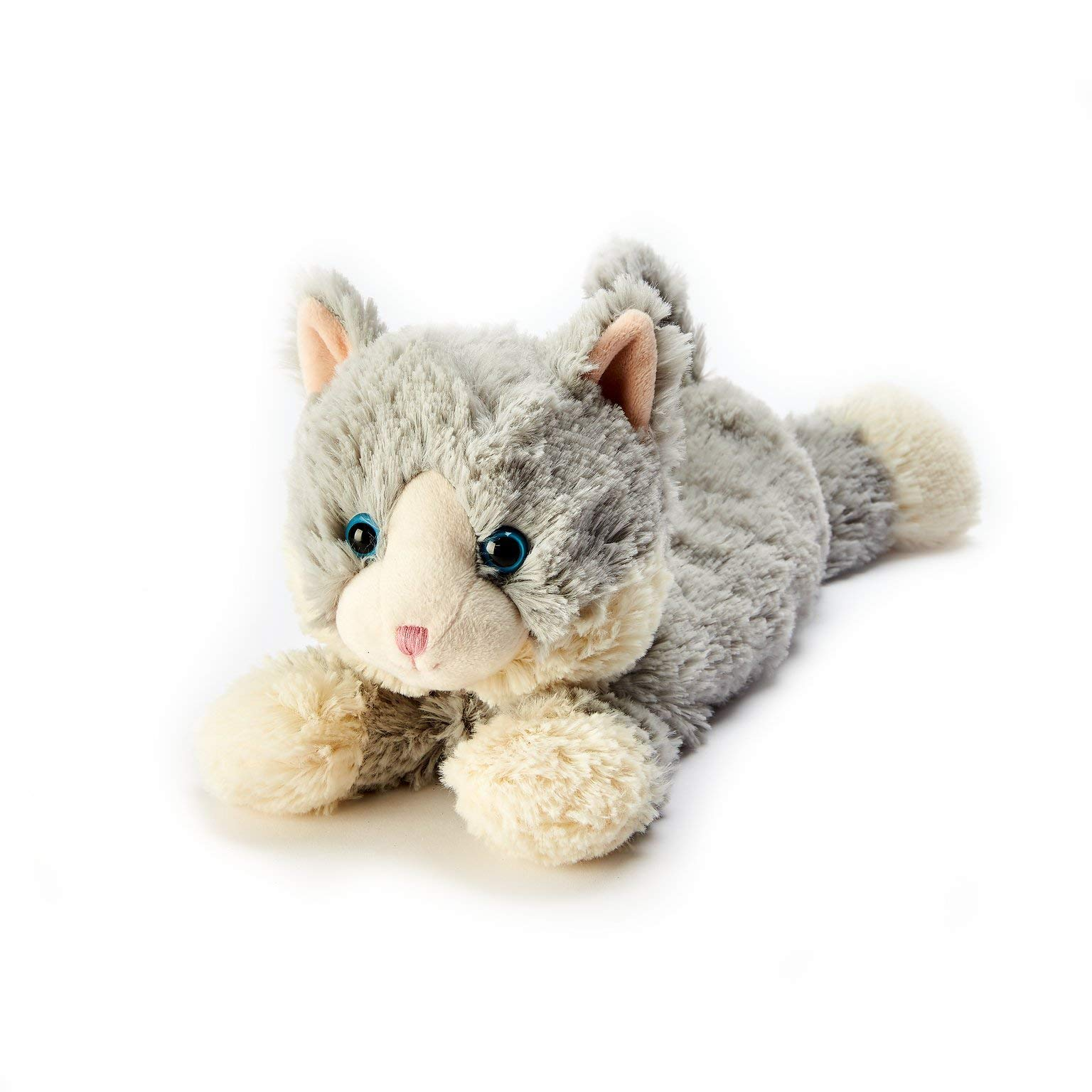 Intelex Warmies Microwavable French Lavender Scented Plush Laying Down Cat by Intelex