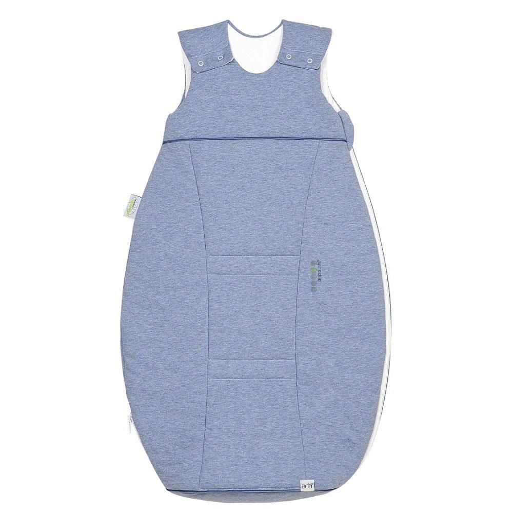 Odenwälder Jersey-Schlafsack Airpoints melange bleu, Größe in cm 110 cm