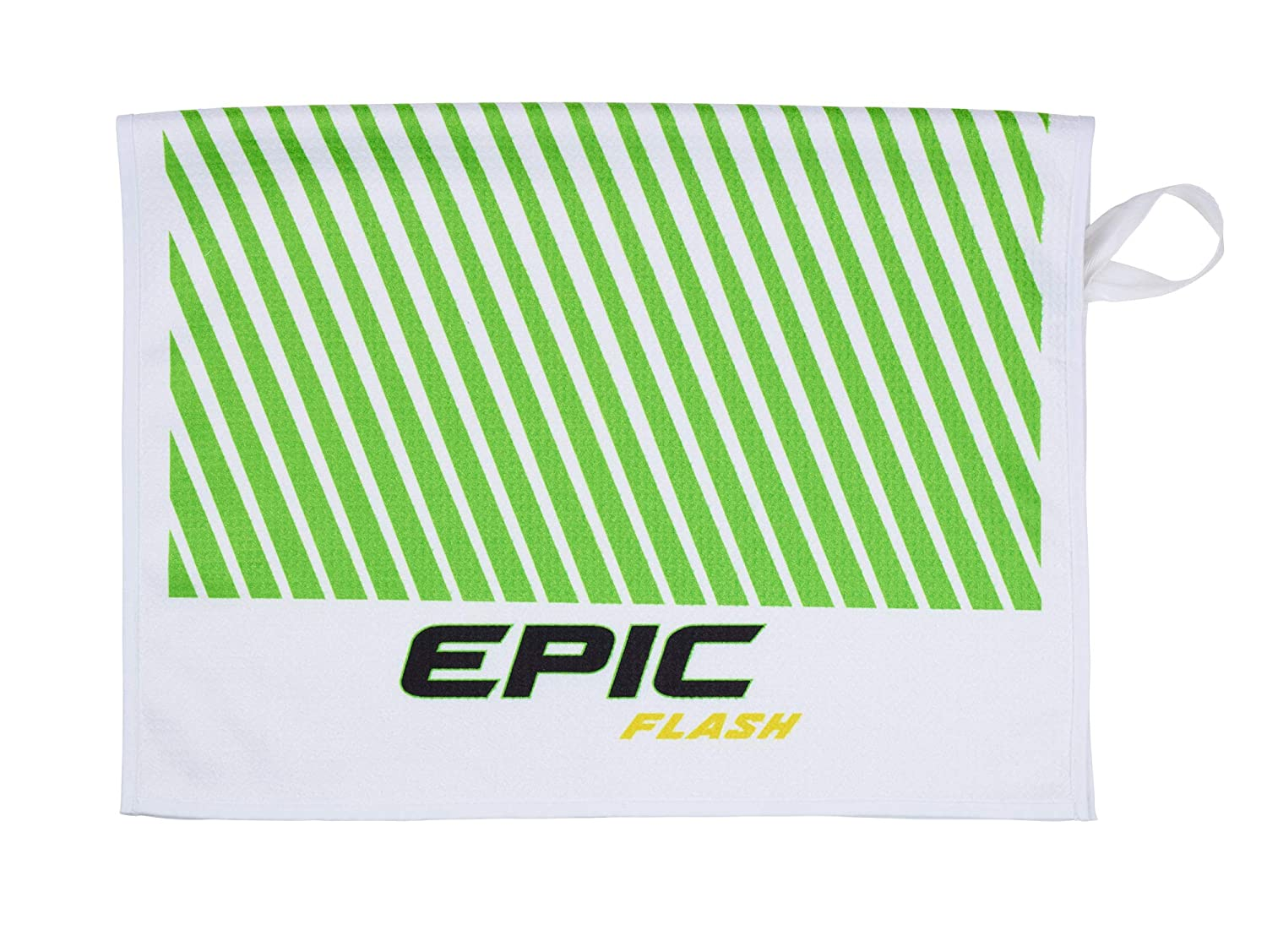 (White/Green/Black) - Callaway Golf 2019 Epic Flash Premium Microfiber Golf Towel 80cm x 50cm   B07M5MF9LC