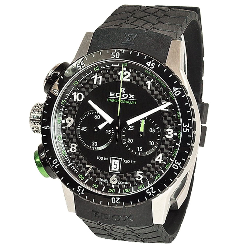 エドックス クロノラリー1 クロノグラフ 腕時計 メンズ EDOX 10305-3NV-NV[並行輸入品] B00HFMOBJ2