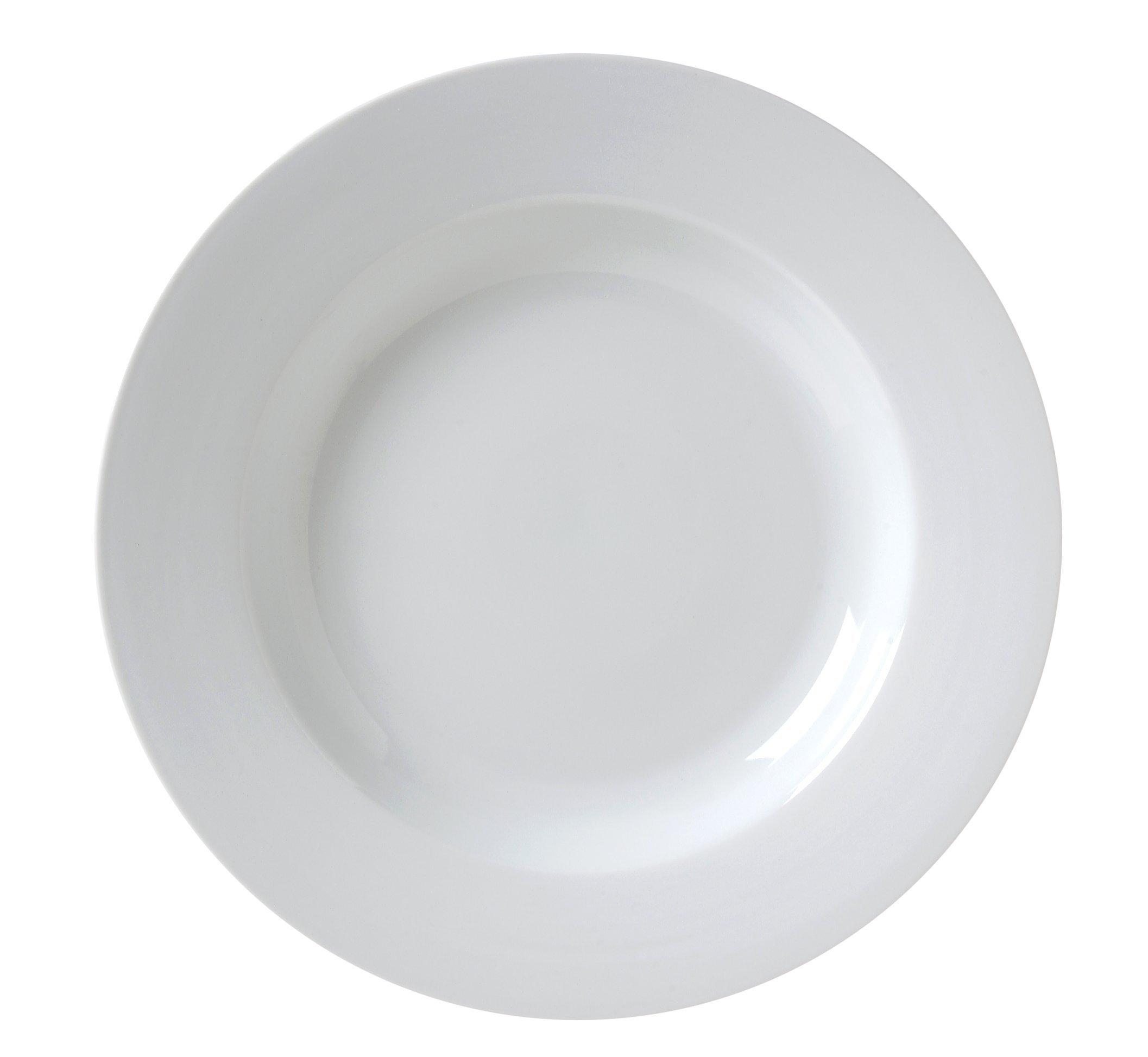 Vertex China CAT-26 Market Buffet Pasta Bowl, 10-1/2'', 18 oz., Porcelain White (Pack of 12)
