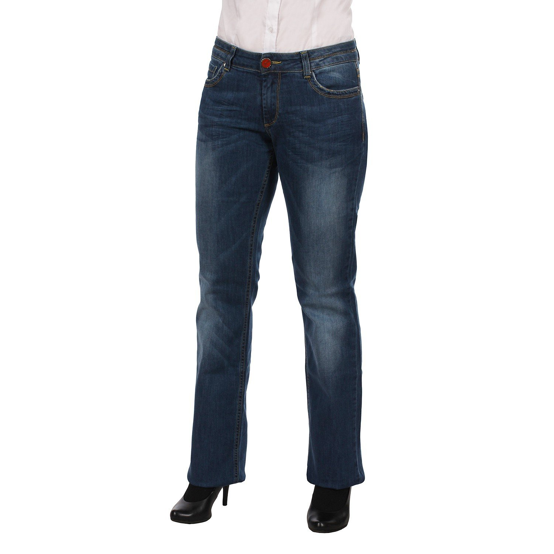 Indian Rose Damen Jeans Hüftjeans Renewlow 165 C1106