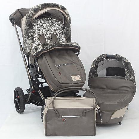 hartan VIP XL cochecito - Selection - 241 - Leoprint marrón ...