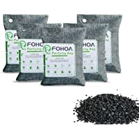 Air Purifying Bags Activated Bamboo Charcoal Bags for Home,Odor Absorber,Eliminator,Damp rid,Car, Closet, Bathroom…