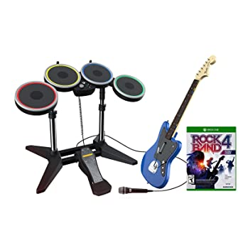 bb64c9d01d Rock Band Rivals Band Kit for Xbox One - Band Kit Edition  Xbox One   Computer and Video Games - Amazon.ca