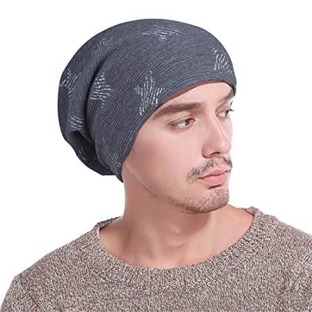 Glhkkp-hm Gorro de Lana Hechos a Mano Unisex Slouchy Beanie Hats ...