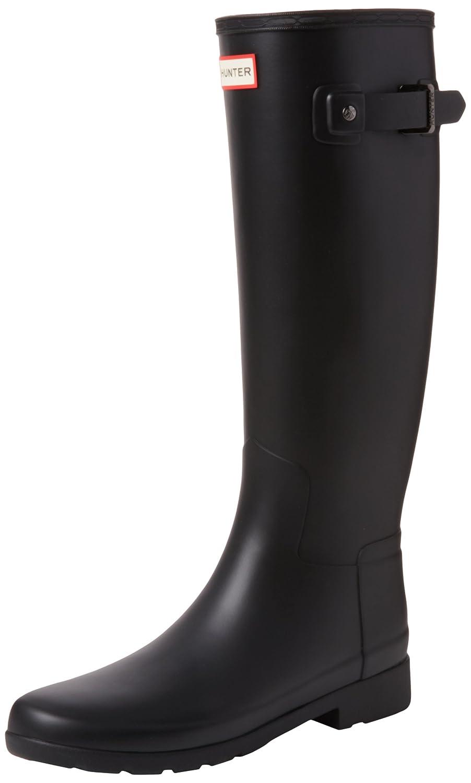 Hunter Womens Original Refined Tall Matte B01IC7C078 6 B(M) US|Black