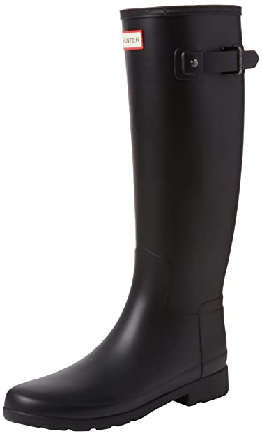 1a50737b6199 Hunter Women s Original Refined Tall Matte Black Boot