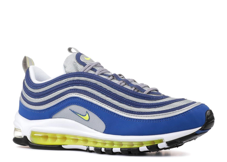 Nike Herren Air Max 97 Sneaker 44.5 EU Blau (Atlantic Blue Voltage Yellow 391b2f329a