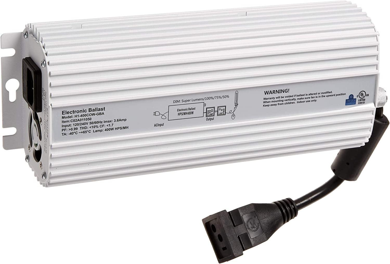 600w Watt Dimmable Digital Super Lumens HPS MH Grow Light Ballast 120v//240v
