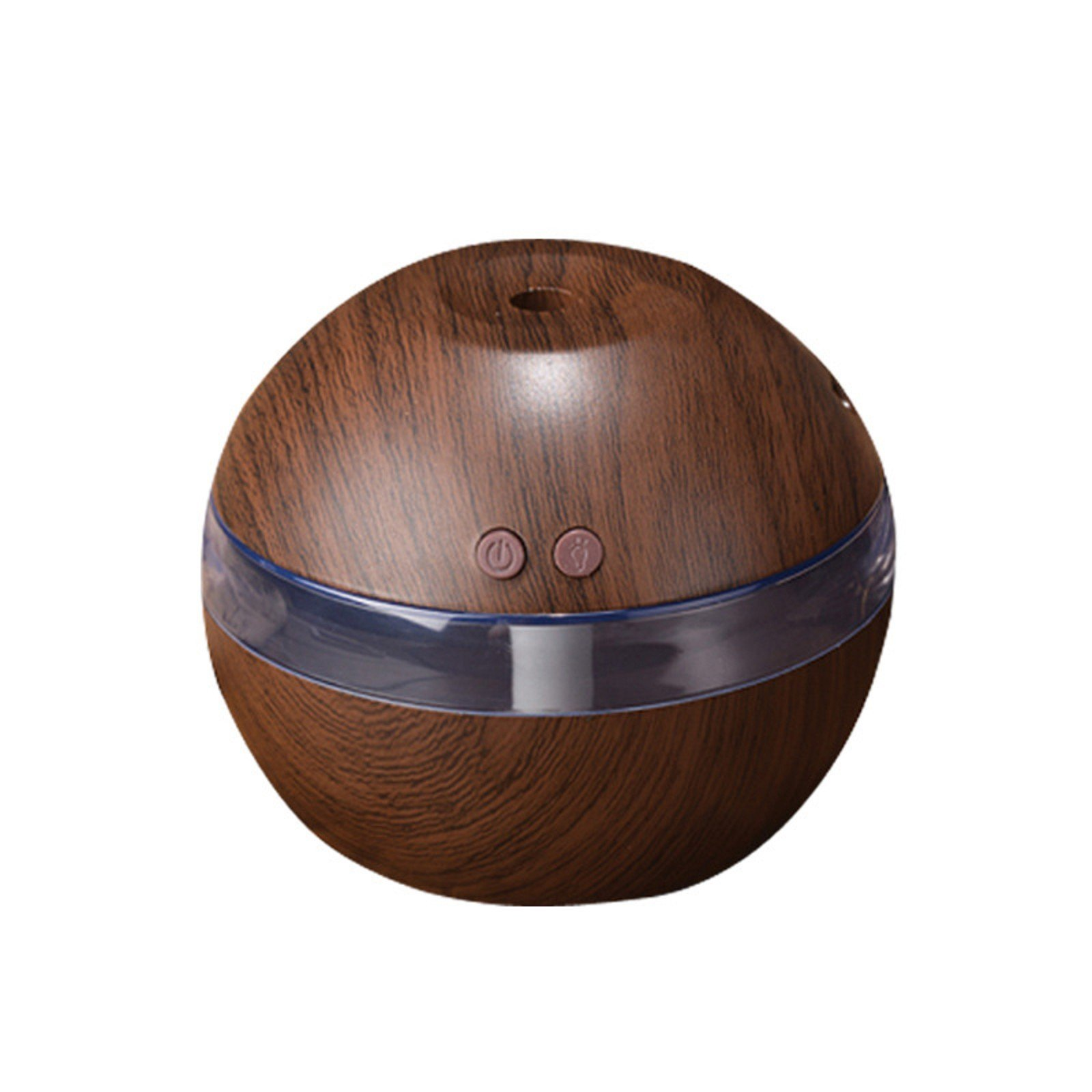 MZS Tec Usb Wooden Grain Diffuser, Cool Mist Humidifier, Aromatherapy Essential Oil Diffuser Noiseless Diffusers, Home Office Ornament (Deep grain)