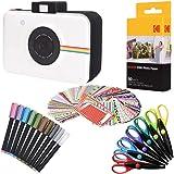 "Kodak 2""x3"" Premium Zink Photo Paper (50 Sheets) + Camera Scrapbook + 100 Photo Border Stickers + 10 Markers + 6…"