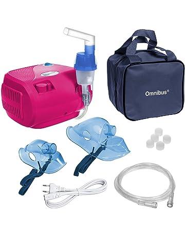 Omnibus BR-CN116B inhalador Aparato para inhalación de medicamentos líquidos con compresor Nebulizador