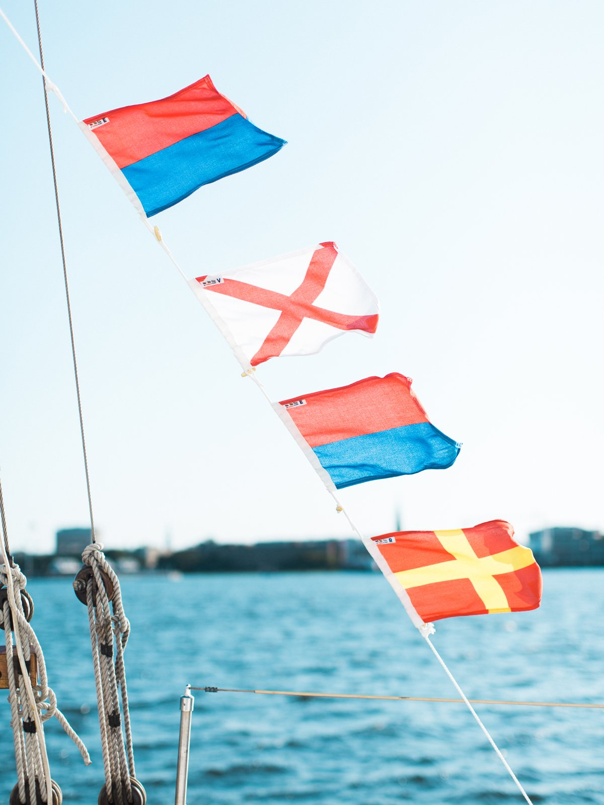 ''N'' Nautical Signal Flag
