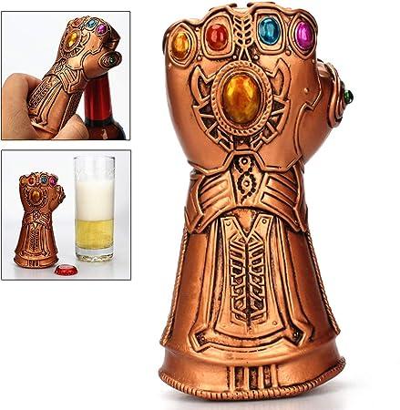 Abridor de Botellas de Cerveza Thanos Gauntlet Glove Multiusos Herramienta de removedor de Tapa de Vidrio de Soda/Cerveza de Vino Abrelatas de Botella Glove Beer