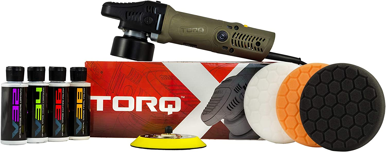 Chemical Guys BUF_503X TORQX Random Polisher Kit with Pads, Polishes & Compounds (9 Items): Automotive