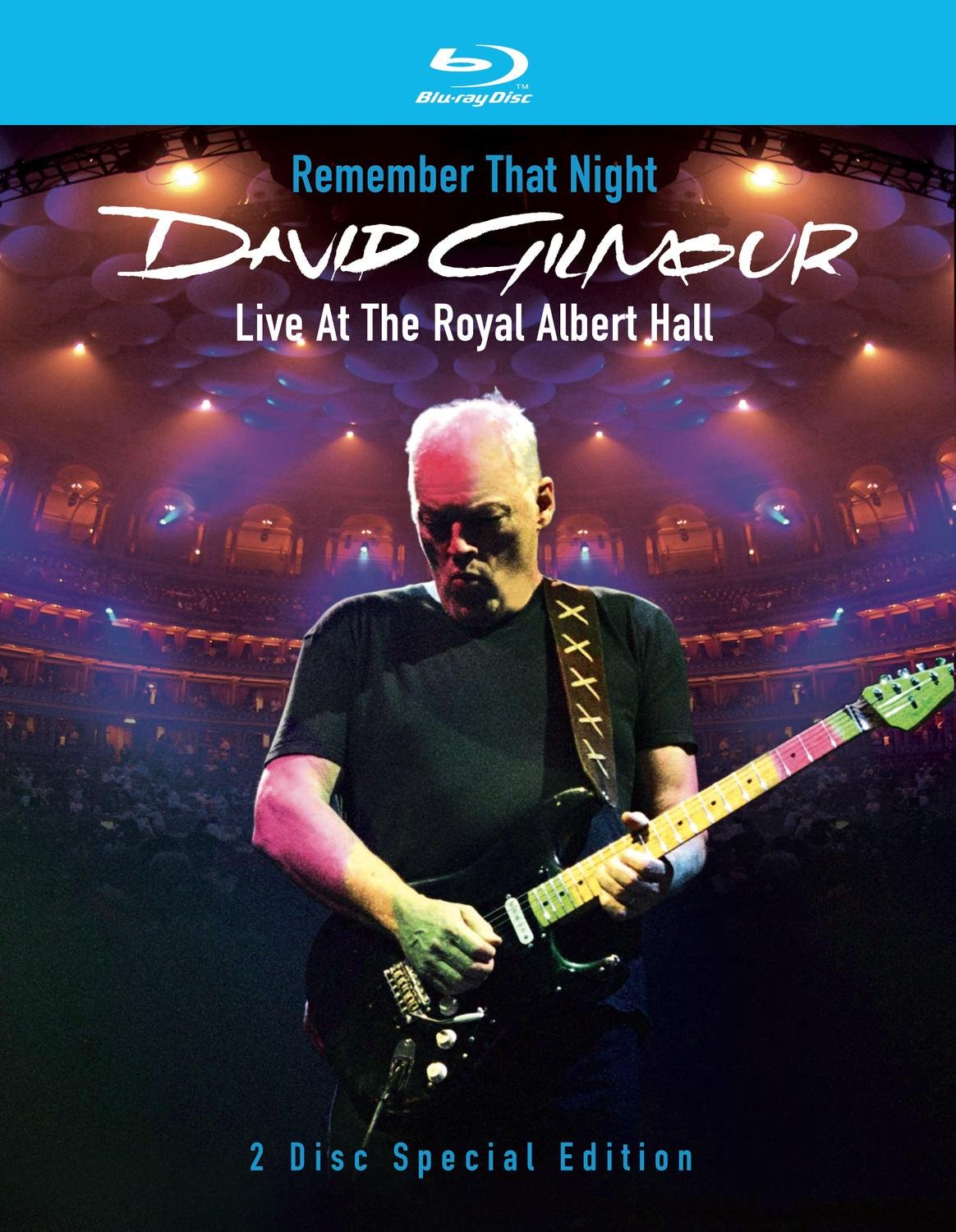 Blu-ray : David Gilmour - Remember That Night: Live at the Royal Albert Hall (2 Disc)