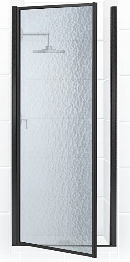 Coastal Shower Doors Legend Series Framed Hinge Shower Door In
