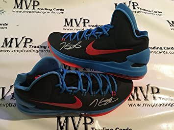 Panini Authentic Kevin Durant autograph Warriors Nike KD V Shoes (Size 15)  RARE!