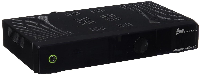 Iris Electrónica COMBO Receptor satélite WiFi HDMi DVB T color negro