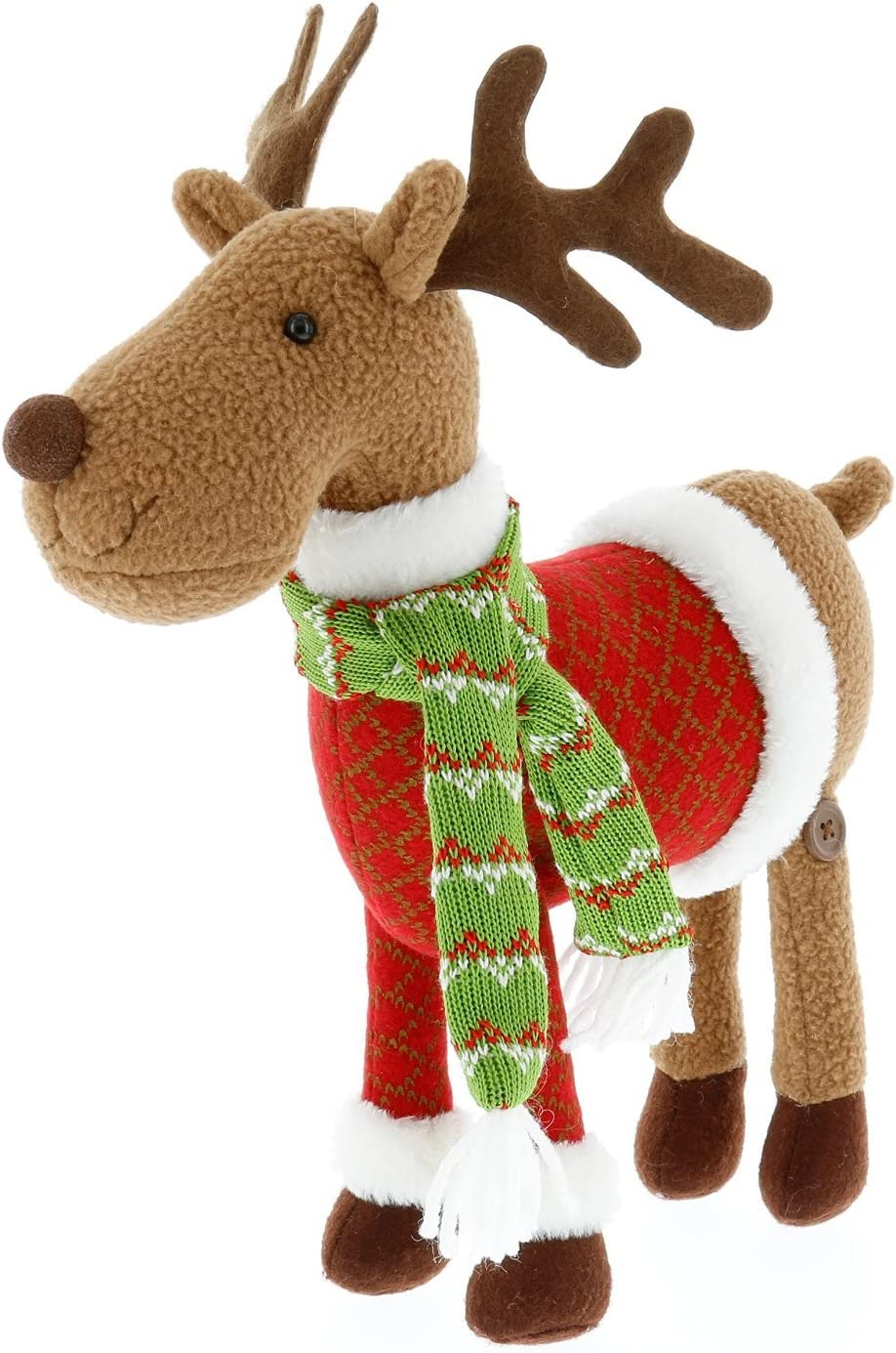SCS Direct Reindeer Plush 12