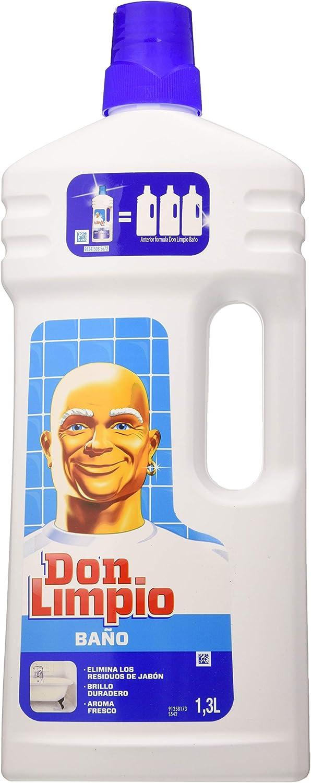 Don Limpio Baño Limpiador Multiusos - 1.5l, Paquete de 9