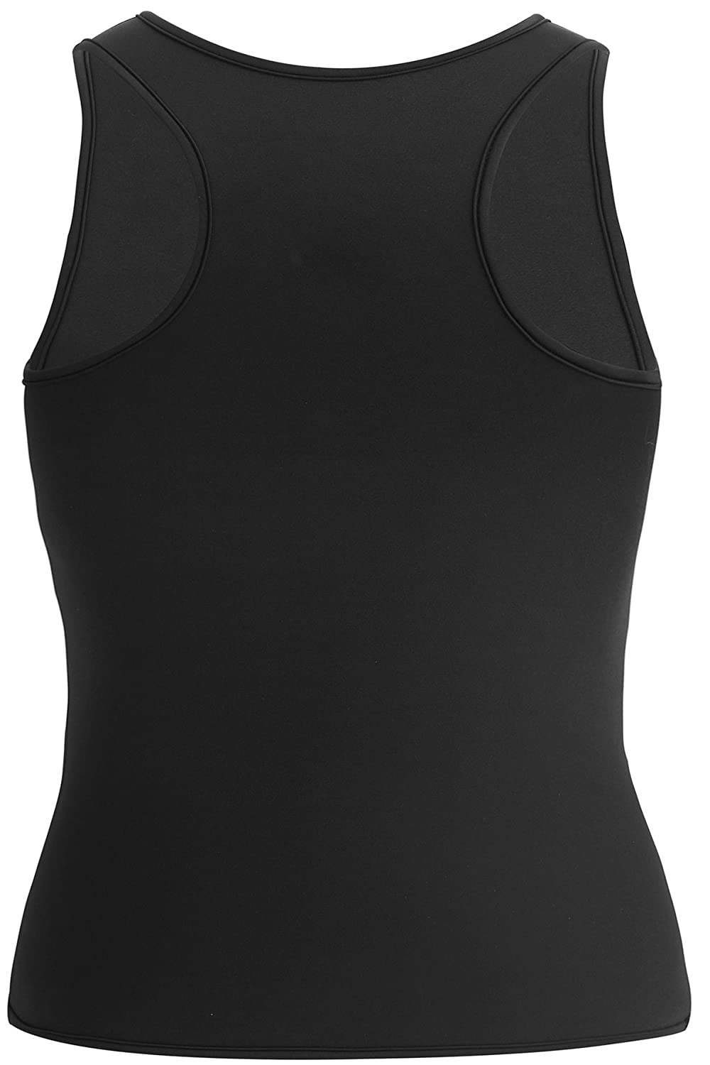 Mens Body Shaper Slimming Shirt Tummy Control Sauna Gym Vest for Weights Loss