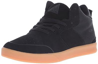 Globe Men's Abyss Skateboarding Shoe, Black/Gum, ...