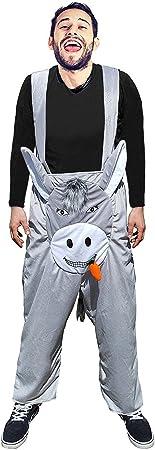 F117 Disfraz de burro Pantalone XL-XXL, disfraces de burro para ...