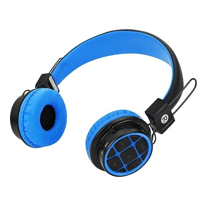 Niños auriculares auriculares inalámbricos Bluetooth para ...