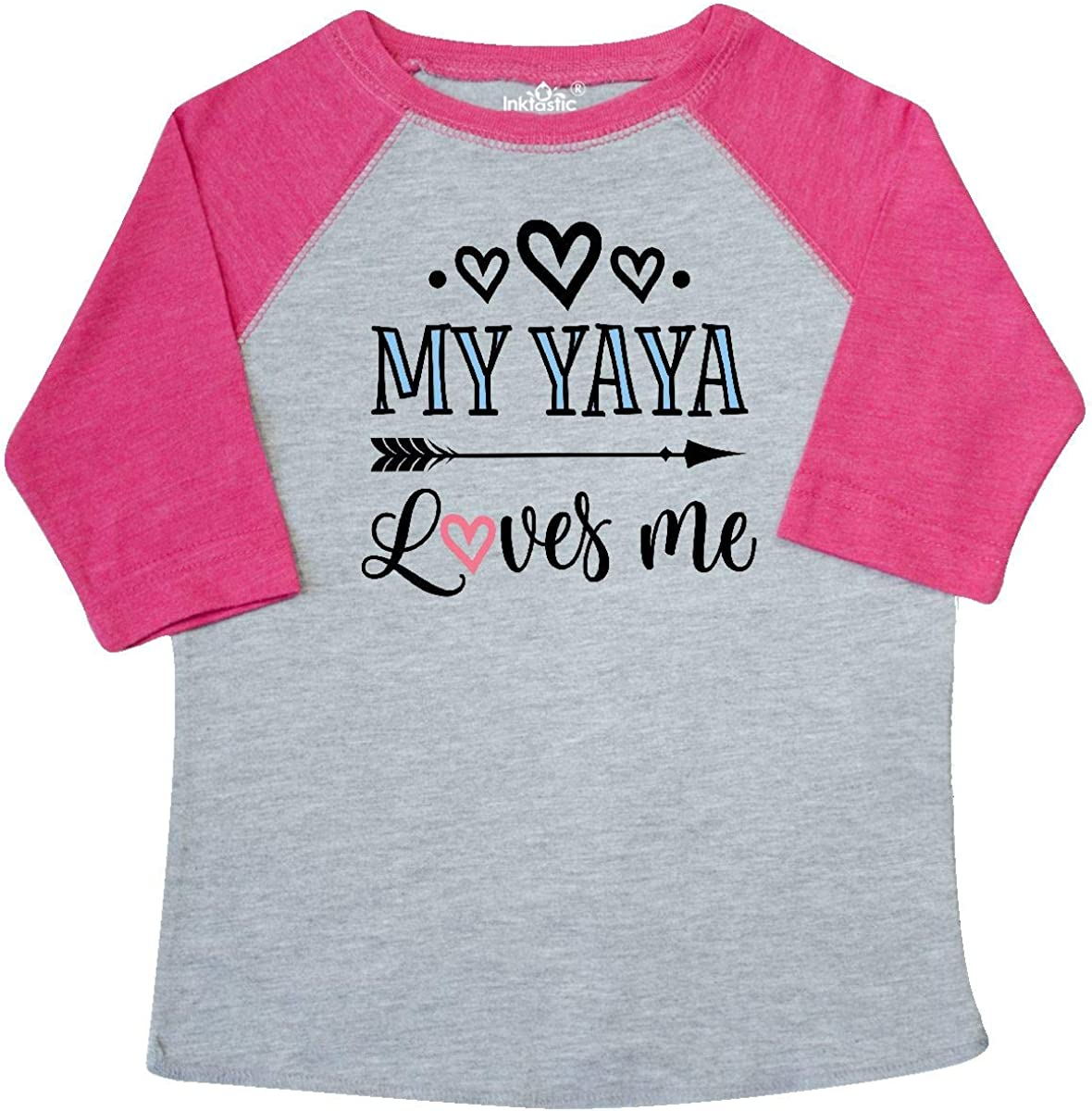 inktastic My Oma Loves Me Grandchild Gift Toddler T-Shirt