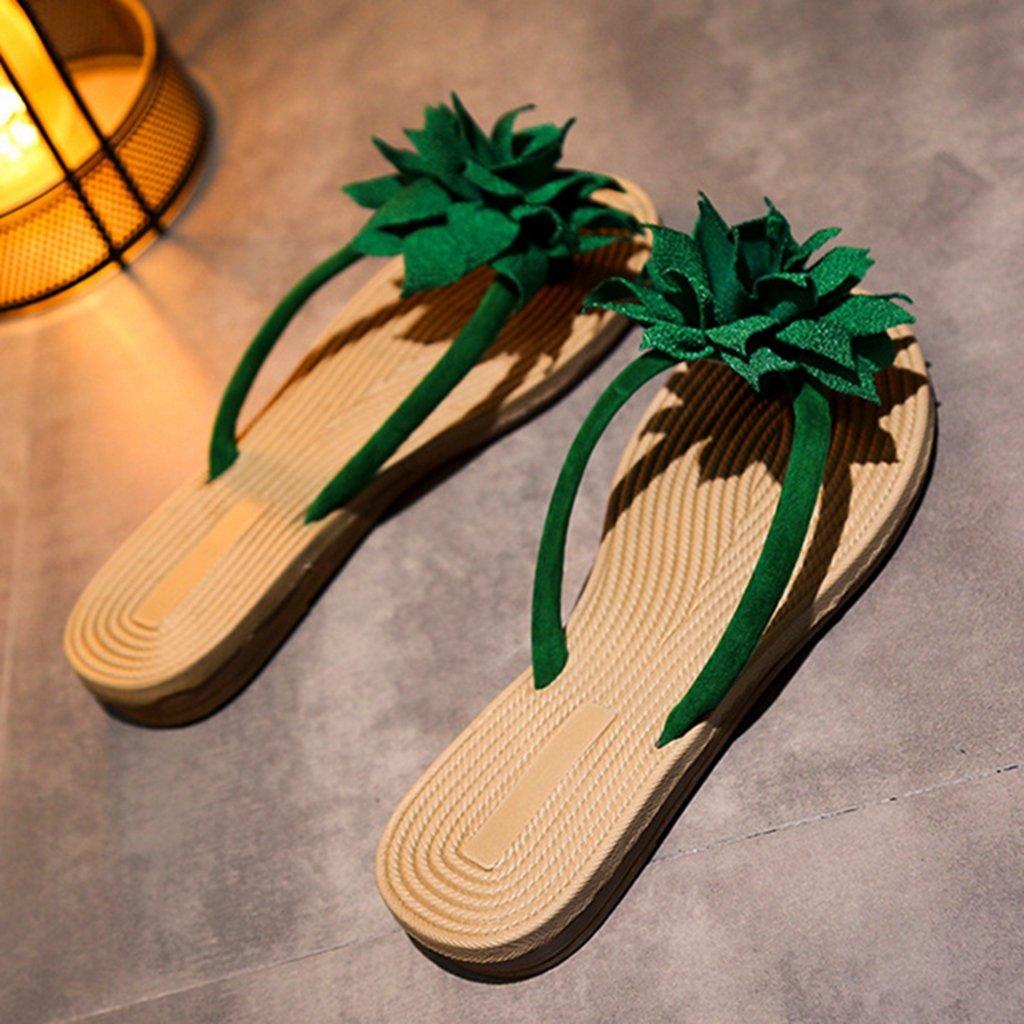 GIY Womens Ladies Flip Flops Slippers Anti-Slip Slip On Dressy Thongs Summer Beach Casual Flat Sandals by GIY (Image #4)