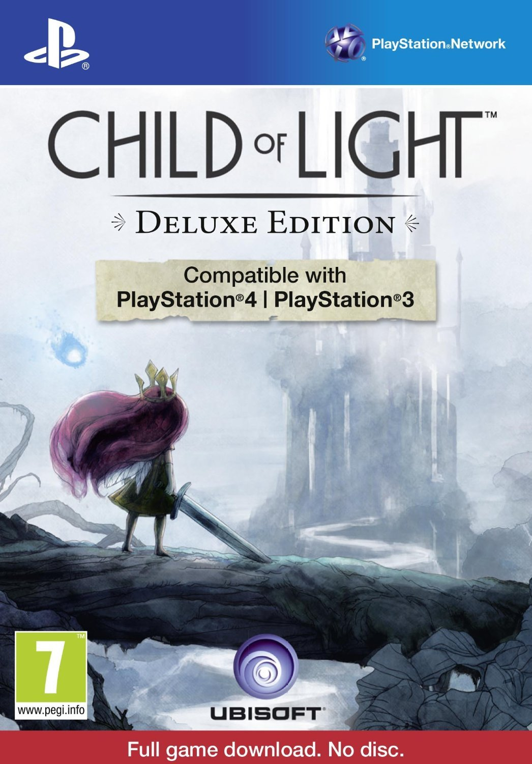 Child of Light: Deluxe Edition [PlayStation 4, PlayStation 3, PS4, PS3 Limited Collector] NEW