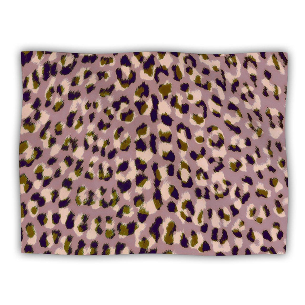 Kess InHouse Vasare Nar ''Leo Cheetah'' Animal Pattern Pet Dog Blanket, 40 by 30-Inch
