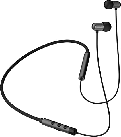 Amazon Com Mobifren Flex E Soul Wireless Bluetooth 5 0 Earphones Vibration Alert Incoming Call Anti Phone Loss Camera Remote Control Voice Command 6 Music Modes 2 Sound Effects Multi Point Function Gray Home Audio Theater