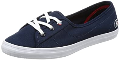 b91f4543f Lacoste Womens Navy Ziane Chunky 317 1 Trainers-UK 8  Amazon.co.uk ...