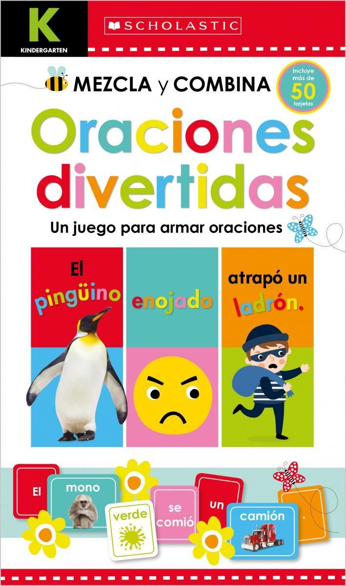 Kindergarten Mezcla y combina: Oraciones divertidas (Scholastic Early Learners) (Spanish Edition)