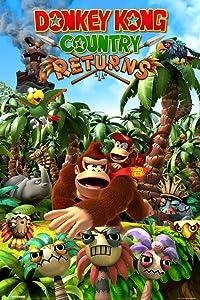 Pyramid America Donkey Kong Country Returns Video Game Cool Wall Decor Art Print Poster 12x18