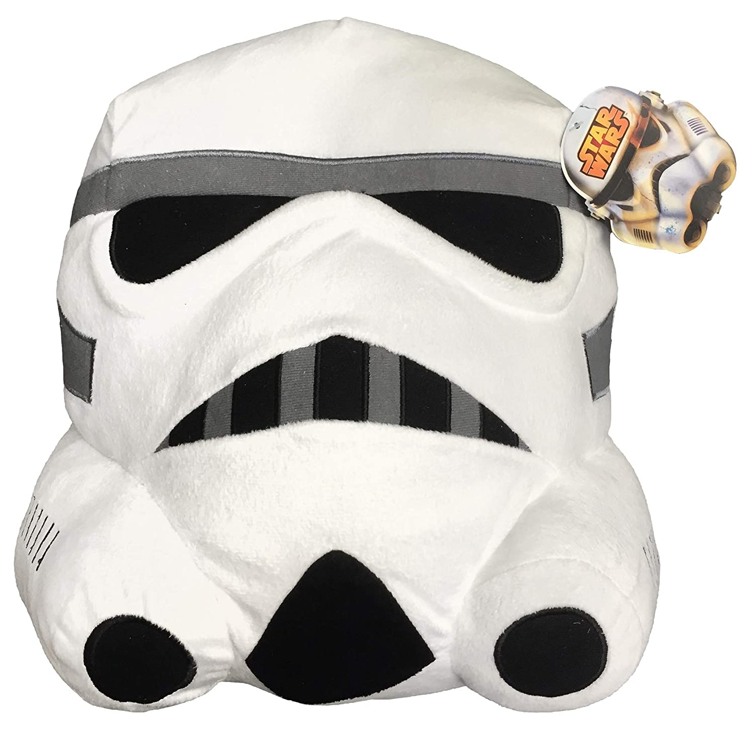 Jay Franco Star Wars Classic Face Pillow, White