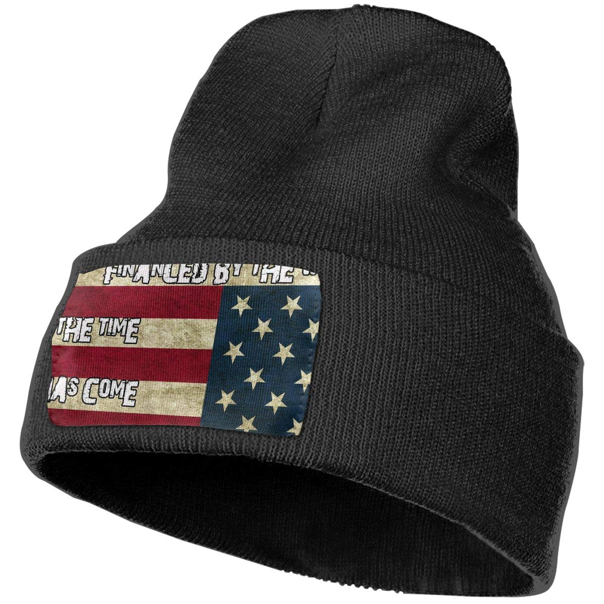 Horizon-t American Flag Unisex 100/% Acrylic Knitting Hat Cap Fashion Beanie Hat
