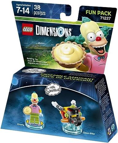 Warner Bros Interactive Spain Lego Dimensions - Figura The Simpsons, Krusty: Amazon.es: Videojuegos