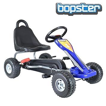 """bopster® Coche de pedales """"Go-Kart"""" para niños con ruedas de plástico"""