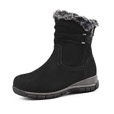 Comfy Moda Women's Wool-Lined Cold Weather Boots Berlin | Snow Boots