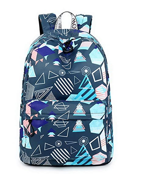 Image Unavailable. Image not available for. Color  Joymoze Waterproof  Leisure Student Backpack Cute Pattern School Bookbag ... 4d180e1c25
