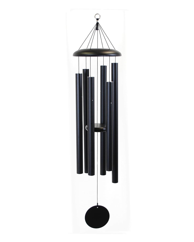 Amazoncom Corinthian Bells 50inch Windchime Black Wind