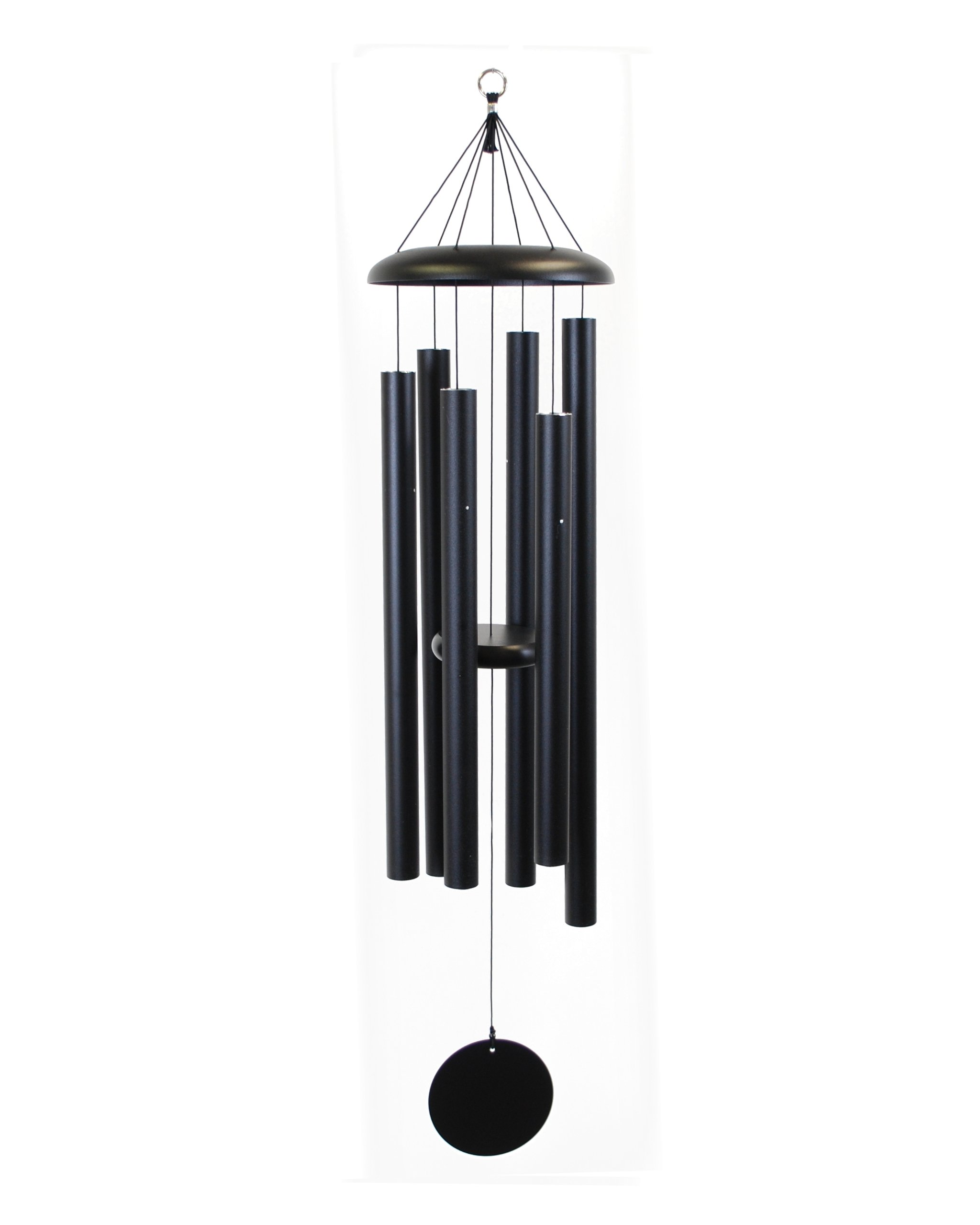 Corinthian Bells 50-inch Windchime, Black by Corinthian Bells